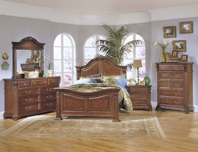 Queen Size 'Corbella' Bedroom Set By Broyhill Furniture