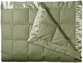 Eddie Bauer Unisex-Adult Down Blanket, Moss FL/QN Full Queen