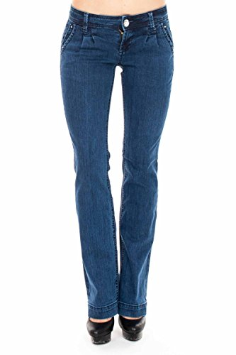 VIRGIN ONLY Women's Slim Bootcut Jeans (Dawn Fog Blue, Size 7) (Coloured Fog Lights compare prices)
