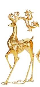 """Mark Roberts Prancing Reindeer Figurine 28"""""""