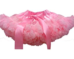 Kubeer 0-9T Baby Tutu Skirt Pink Children Girls Pettiskirt Dancing Party Skirts