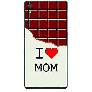 Skin4gadgets I love Mom - Chocolate Pattern Phone Skin for XPERIA Z4