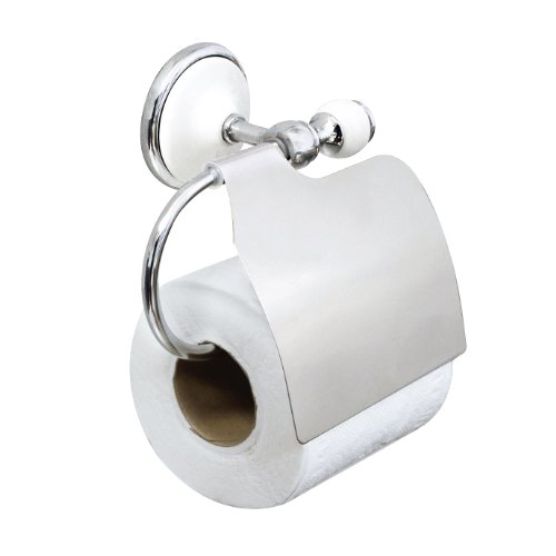 Modona 9755 A Toilet Paper Holder With Cover White