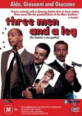 Tres hombres y una pierna / Three Men and a Leg ( Tre uomini e una gamba ) [ Origen Australiano, Ningun Idioma Espanol ]