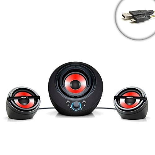 Compact-PRO-Audio-21-Channel-Gaming-Speaker-System-with-Powered-Subwoofer-Works-With-Desktops-Laptops-Handheld-Game-Systems-Smartphones-MP3-Players-Tablets-and-More-Includes-Bonus-Micro-USB-cable