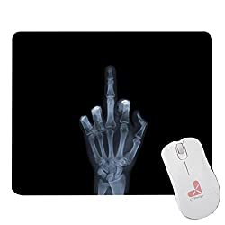 Middle Finger Mousepad X-Ray Mouse Pad, ToyMP:151