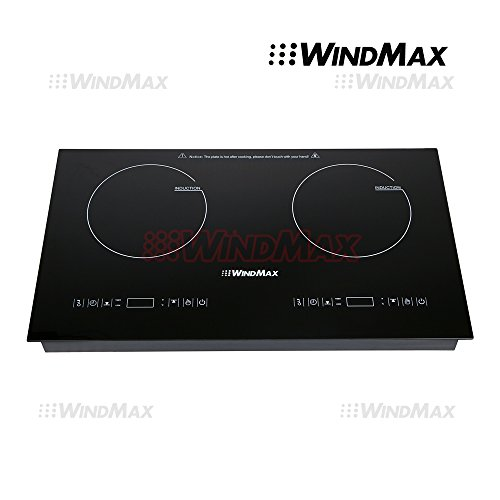 WindMaxR Hot 28 Inch Fixed Glass Plate Timmer Induction