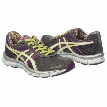 ASICS Women's Gel Blur 33 (Grey/Purple/Lime 7.0 M)