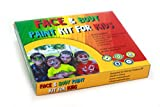 Creative ELF Face and Body Paint Kit for Kids - Best Quality Approved by Consumers - Professional 8 Color Palette - Washable and Perfect for Sensitive Skin - FDA Approved - the Best Face Paint Kit