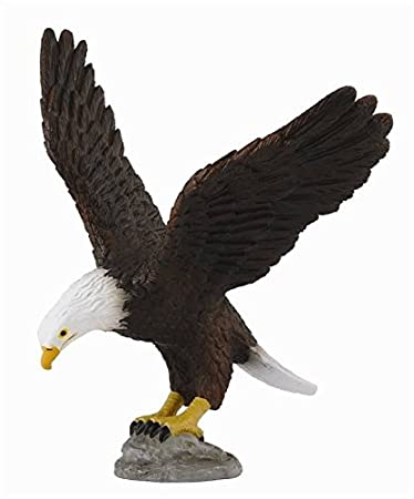 Collecta - 3388383 - Figurine - Animaux Sauvages - Aigle à Tête - Blanc