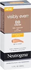 Neutrogena Visibly Even BB Cream Fair To Light Posted Light