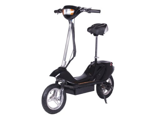 X-Treme Electric X-370 Battery Powered Electric Scooter (Black)
