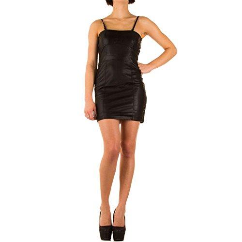Glanzwelten GOGO Outfit Dancewear Clubwear GOGO Outfit Gr. 36/38 PU Lederkleid