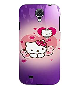 PrintDhaba Kitty D-4473 Back Case Cover for SAMSUNG GALAXY MEGA 6.3 (Multi-Coloured)