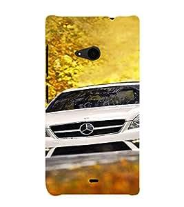 EPICCASE Audi Mobile Back Case Cover For Nokia Lumia 535 (Designer Case)
