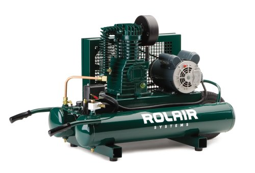 Rol-Air Air Compressor 8 Gallon 1.5HP Elec #5715K17
