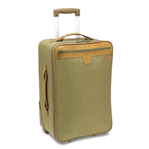 Hartmann Packcloth 21 Inch Expandable Mobile Traveler Carry-on, Khaki, One Size