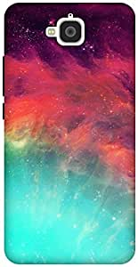 The Racoon Lean wonderful stars hard plastic printed back case / cover for Huawei Honor Holly 2 Plus