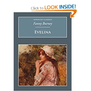 Evelina (Nonsuch Classics) Frances Burney