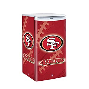NFL San Francisco 49ers Counter Top Refrigerator by Boelter Brands