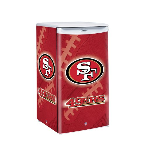 NFL San Francisco 49ers Counter Top Refrigerator