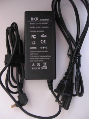 Thor Brand Replacement Ac Power Adapter Cord For Asus Laptop Computer Pc: A55A A55A-Vb51 K52F-D1I3-380M K52Jt-Xt1R K53E-Bbr1 K53Erf-Bbr17 K53E-Rs52 K53E-Xb31 K53E-Yh31 K53E-Ys31-Rd K53Sd-Ds71 K53Sd-Rs51