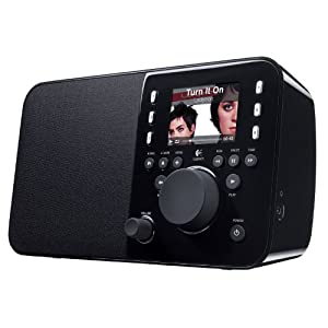 Logitech Squeezebox Radio Music Player with Color Screen (Black) (Discontinued by Manufacturer)