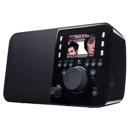 Logitech Squeezebox Radio Music Player with Color Screen (Black)