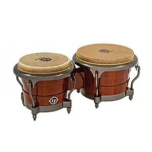 Latin Percussion LP Generation II Bongos - Natural/Chrome