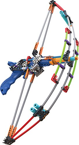 K'NEX K-FORCE Battle Bow Build and Blast Set - 165 Pieces - Ages 8+ Engineering Education Toy (Boy Toys 10 Year Old compare prices)