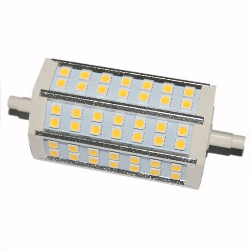 Factop Led Bulb Lamp Light R7S 10W 42*5050 Smd 760-780Lm 118Mm 85-265V Ac Replacement For Halogen Flood Lamp Warm White