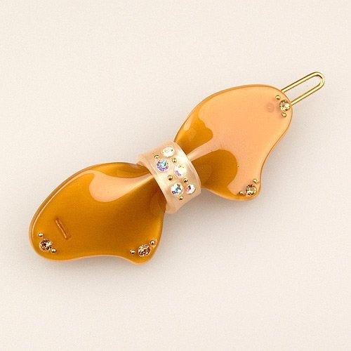 Osmond Ginger Ivory - Cubitas Morisot Collection (Hand-set Swarovski Crystals, Hair Pin)