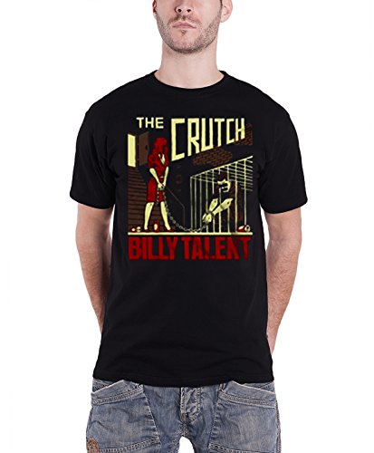 Plastic Head Billy Talent the Crutch, T-Shirt Uomo, Nero, XX-Large