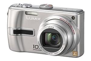 Panasonic Lumix DMC TZ3EF-S Appareil photo numérique 7,2 Mpix zoom optique 10x stabilisé- grand angle 28mm Argent