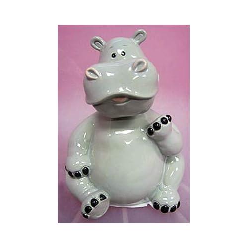 Amazon.com: Bobble Head HIPPO Piggy Bank - Funny