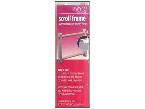 "FA Edmunds 8.5"" x 18"" Split Rail Scroll Frame"