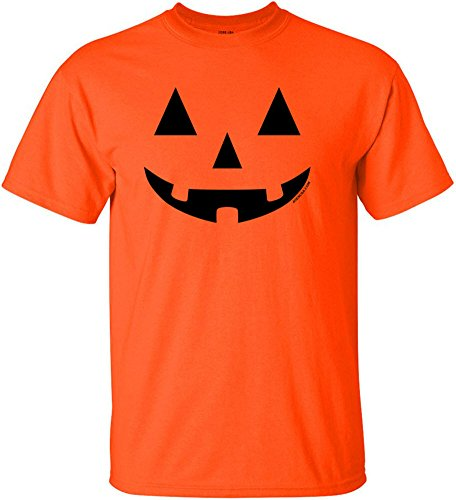 Joe's USA(tm) JACK O' LANTERN PUMPKIN Halloween Costume T-Shirt