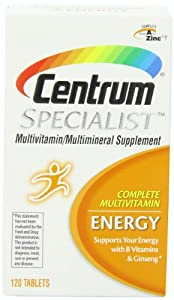 Centrum Specialist Energy, 120 Count