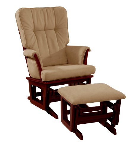 Baby Glider And Ottoman front-111175