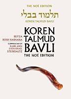 Koren Talmud Bavli: Beitza, Rosh Hashana, The Noe Color Edition