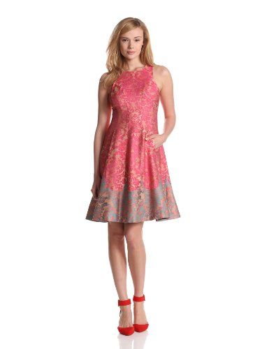 Tracy Reese Women's Michelle Dress, Pink, 8