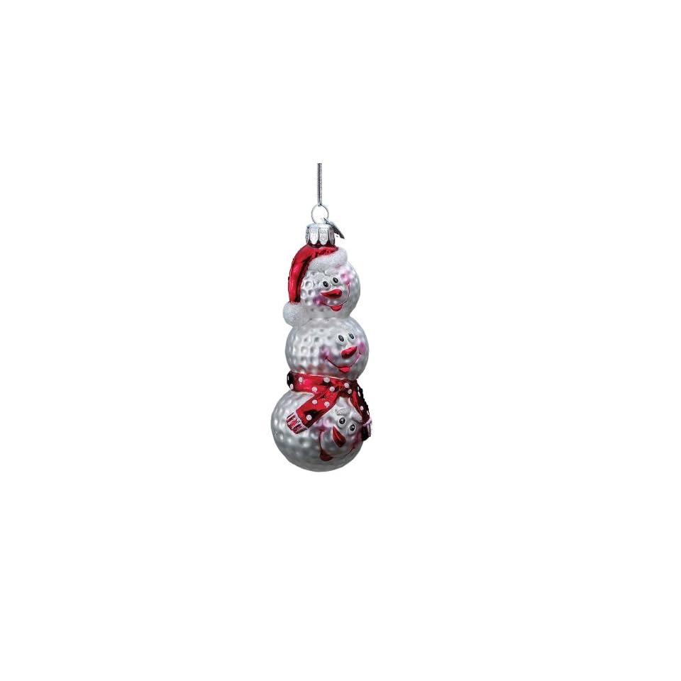 Kurt Adler 5 Glass Golf Bag Ornament
