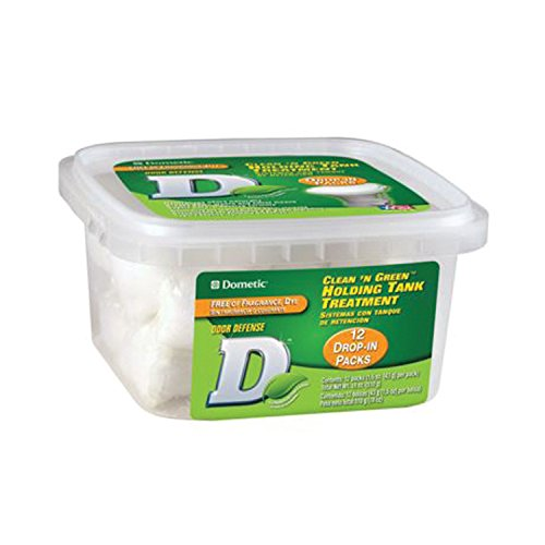 Dometic D1114002 Clean N Green Drop-in Tub (12pk) (Dometic Clean N Green compare prices)