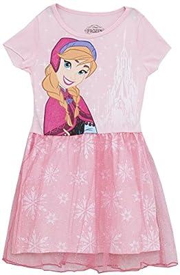 Disney Frozen Anna Little Girls' Snowflake Dress