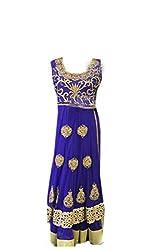 Anjali Women's Georgette Dress Material (Anj06_Multi)