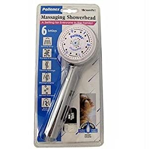 POLLENEX PS3201 HANDHELD MASSAGING SHOWERHEAD