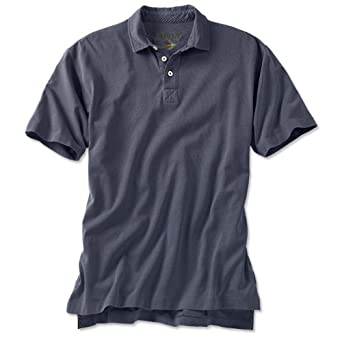 Orvis Men's Surfwashed Short-sleeved Polo Shirt / Surfwashed Polo Shirt, Weathered Navy, Medium