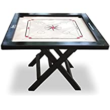 Brown Carrom Board Table And Kit (Carrom Board)