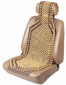 Zone Tech Wood Beaded Seat Cushion