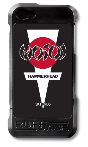 Special Sale RuffCase CC-IP5-BLK-CH Combi Case for iPhone 5 - Retail Packaging - Christian Hosoi